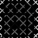 Matchbox Matchstick Camping Icon