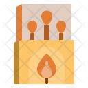 Matchbox Camping Matches Icon