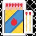 Matchbox Matches Fire Icon