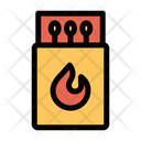 Flammable Ignite Fire Flame Icon