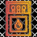 Matches Match Box Match Stick Flame Icon