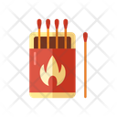 Matches Box Camping Icon