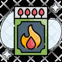 Adventure Burn Flammable Icon