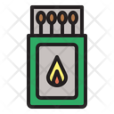 Matches Fire Flame Icon