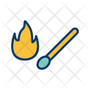 Matches Stick Fire Icon