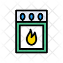 Matchstick Matches Fire Icon