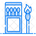 Matchstick Matchbox Fire Stick Icon