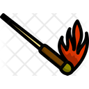 Smoke Matchstick Light Icon