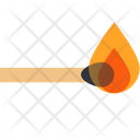 Matchstick Flame Matches Icon