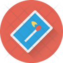 Matchstick Fire Flame Icon