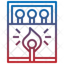Matchsticks Box Icon