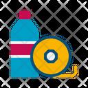 Materials Materials Bottle Jar Icon