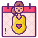Maternity Leave Icon