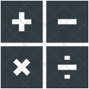 Math Sum Mathematics Icon