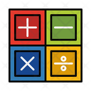Math Mathematic Calculator Icon