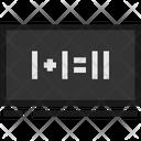Education Flat Math Icon
