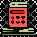 Math Book Math Calculator Icon