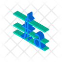 Mathematical Function Isometric Icon