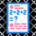 Math Problems Mathematics Math Icon