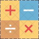 Math Symbols Plus Icon