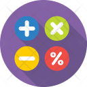 Math Symbols Calculation Icon
