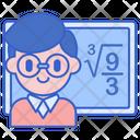 Math Teacher Icon