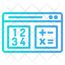Mathematic Knowledge Website Icon