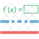 Mathematical Equation Icon