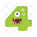 Mathematical Four Monster Icon