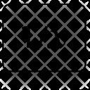 Mathematical Fraction Icon