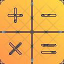 Mathematical Symbols Plus Minus Icon