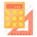 Study Ruler Calculation Icon