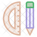 Mathematics Drawing Tools Icon