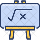 Blackboard Math Mathematics Icon