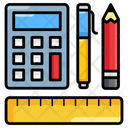 Mathematics Maths Arithmetic Icon