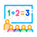 Preschool Class Children Icon