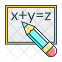 Blackboard Formula Math Icon