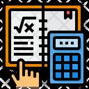 Mathematics Calculator Book Icon