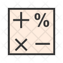 Mathematics Calculation Icon