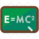 Mathematics Blackboard Icon