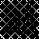 Mathematics Angles Flat Shapes Icon