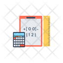 Mathematics Calculations Statistics Icon