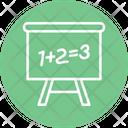Classroom Math Maths Icon