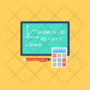 Maths Algebra Geometry Icon