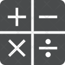 Maths Calculator Calc Icon