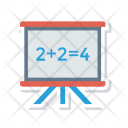 Mathematics board Icon