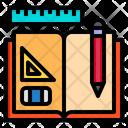 Book Open Edit Icon