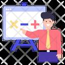 Mathematics Class Icon