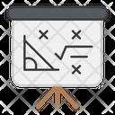 Mathematics Class Math Board Math Course Icon
