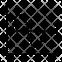 Mathematics Graph Icon